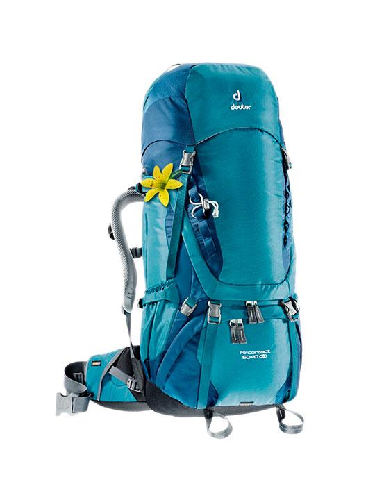 aircontact 60 10 sl mujer deuter mochilas mochilas sobre 50 lts monta a just climb. Black Bedroom Furniture Sets. Home Design Ideas